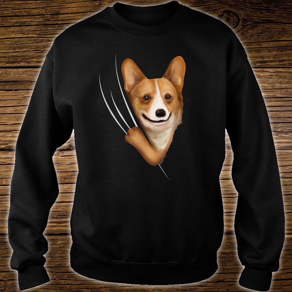 Kids Corgis Clothes From Inside Outfit Corgi Shirt sweater