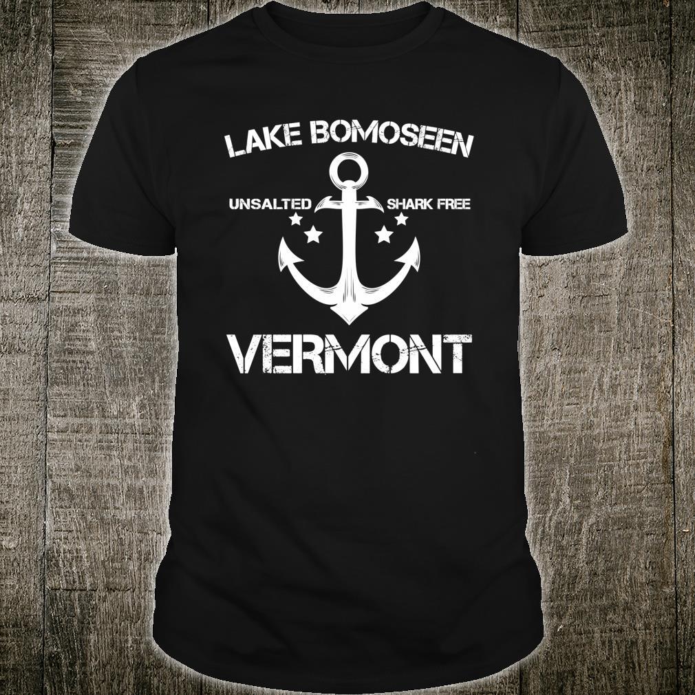 LAKE BOMOSEEN VERMONT Fishing Camping Summer Shirt