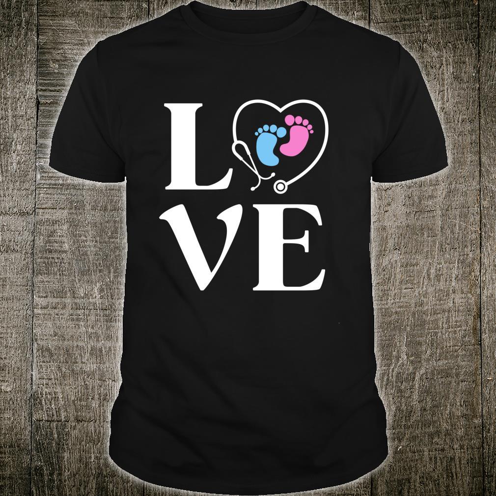 LOVE PICU Nurse Gradudate Pediatric ICU Nursing Shirt