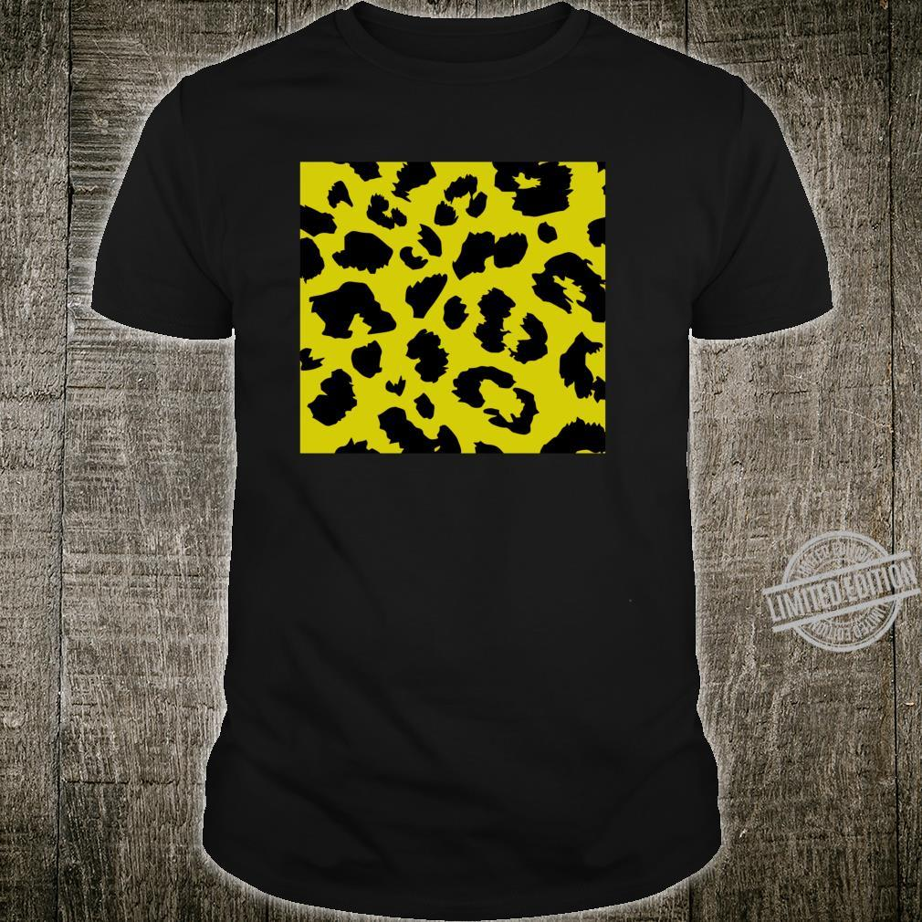Leopard Skin Animal Print Big Cat Wild Feline Predator Shirt