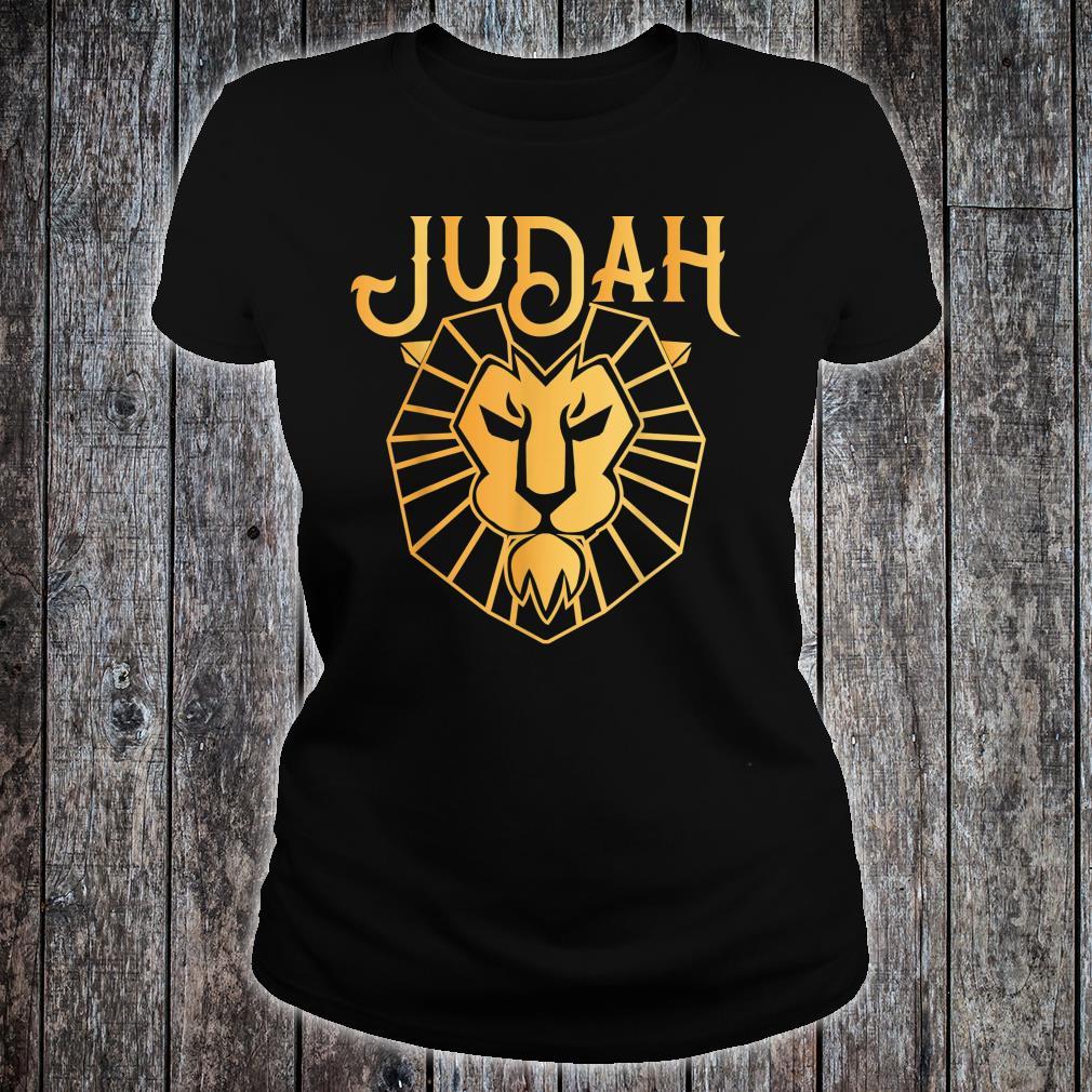Lion Of Judah Gift Hebrew Israelite Shirt
