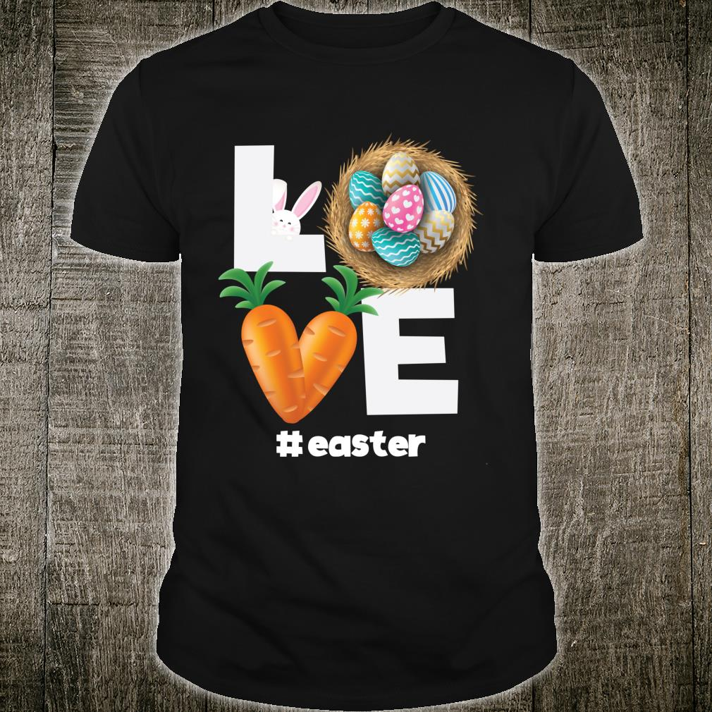 Love Easter Bunny Happy Easter 2021 Easter Day Apparel Shirt