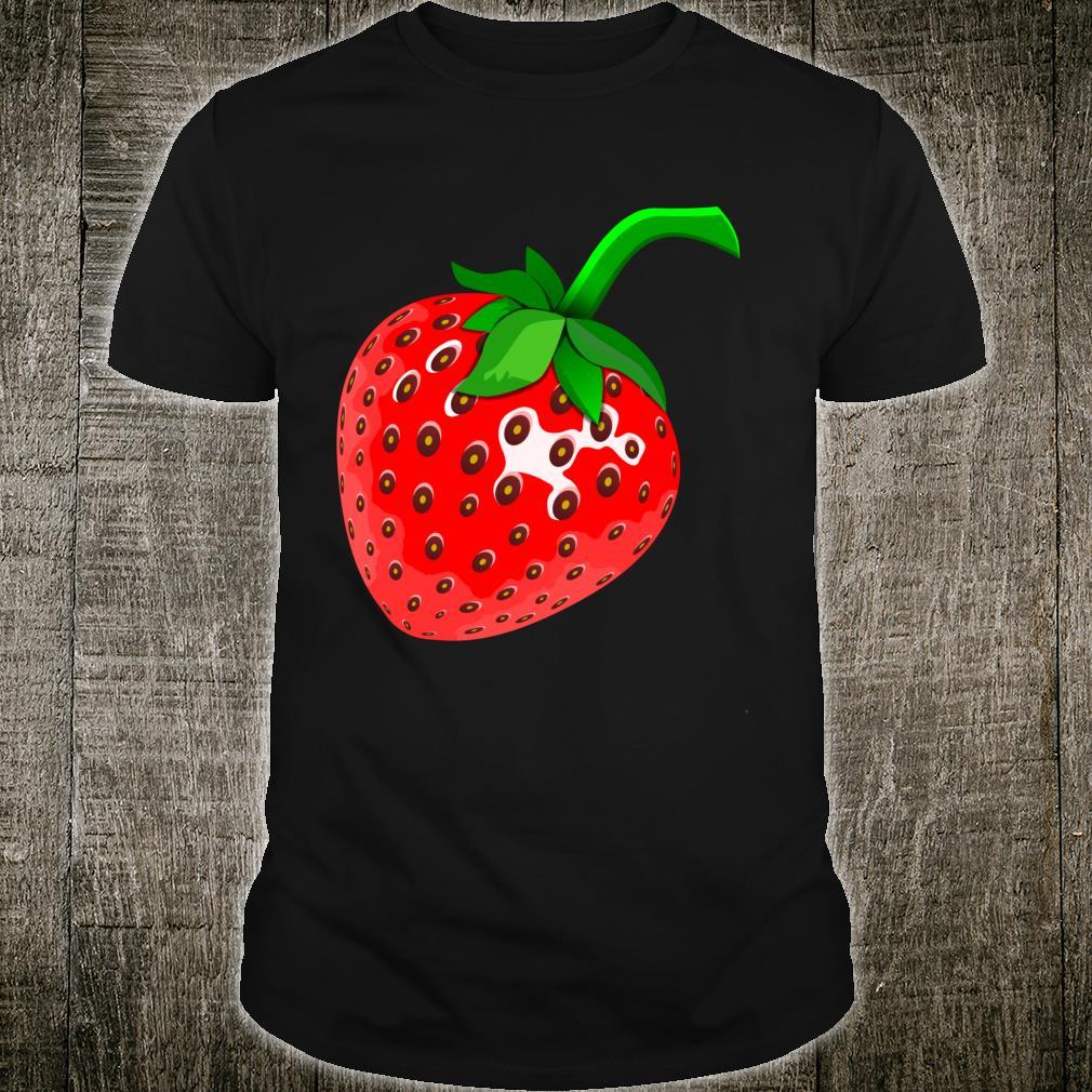 Lustiges Erdbeere Kostüm Fasching Erdbeerkostüm Damen Shirt