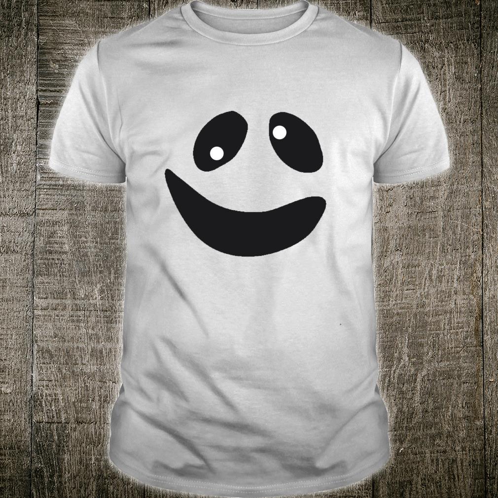 Lustiges GeistGesichtsKostümShirt für Halloween Shirt
