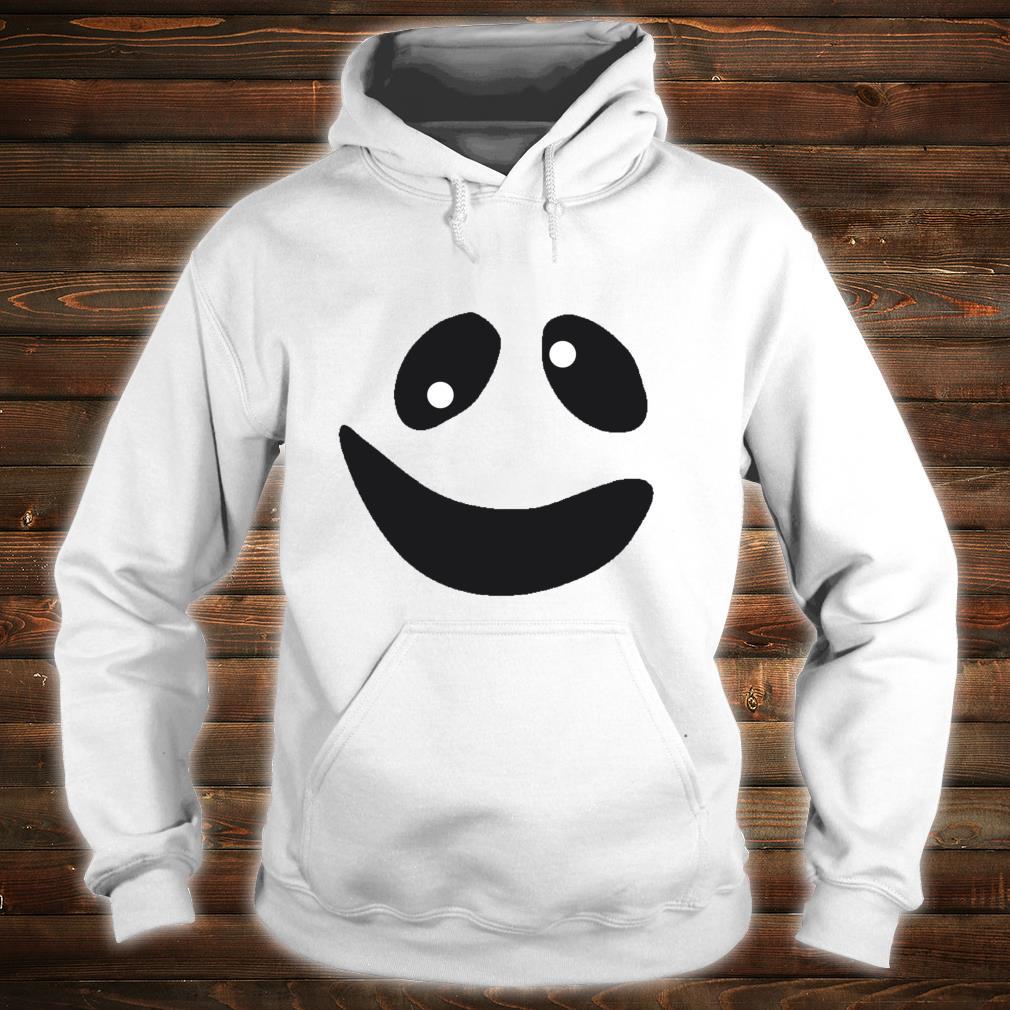 Lustiges GeistGesichtsKostümShirt für Halloween Shirt hoodie