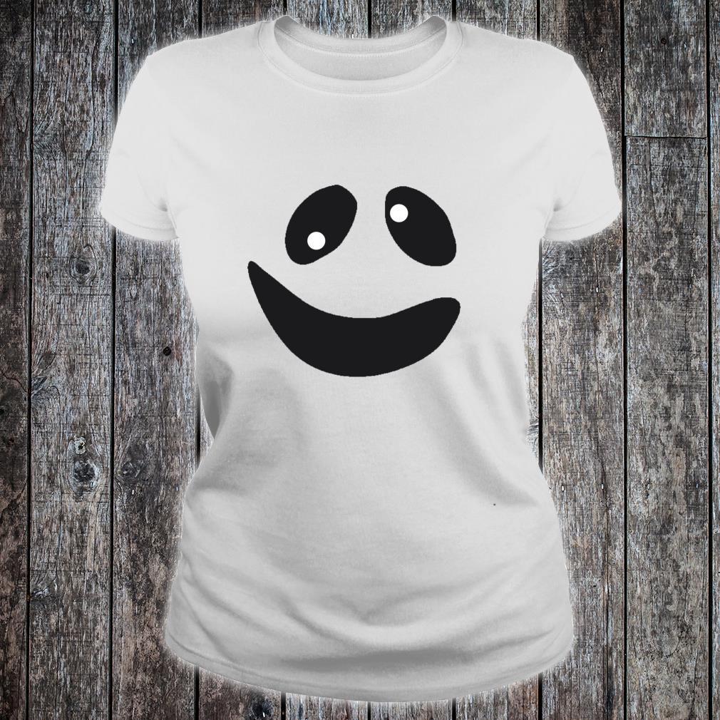 Lustiges GeistGesichtsKostümShirt für Halloween Shirt ladies tee