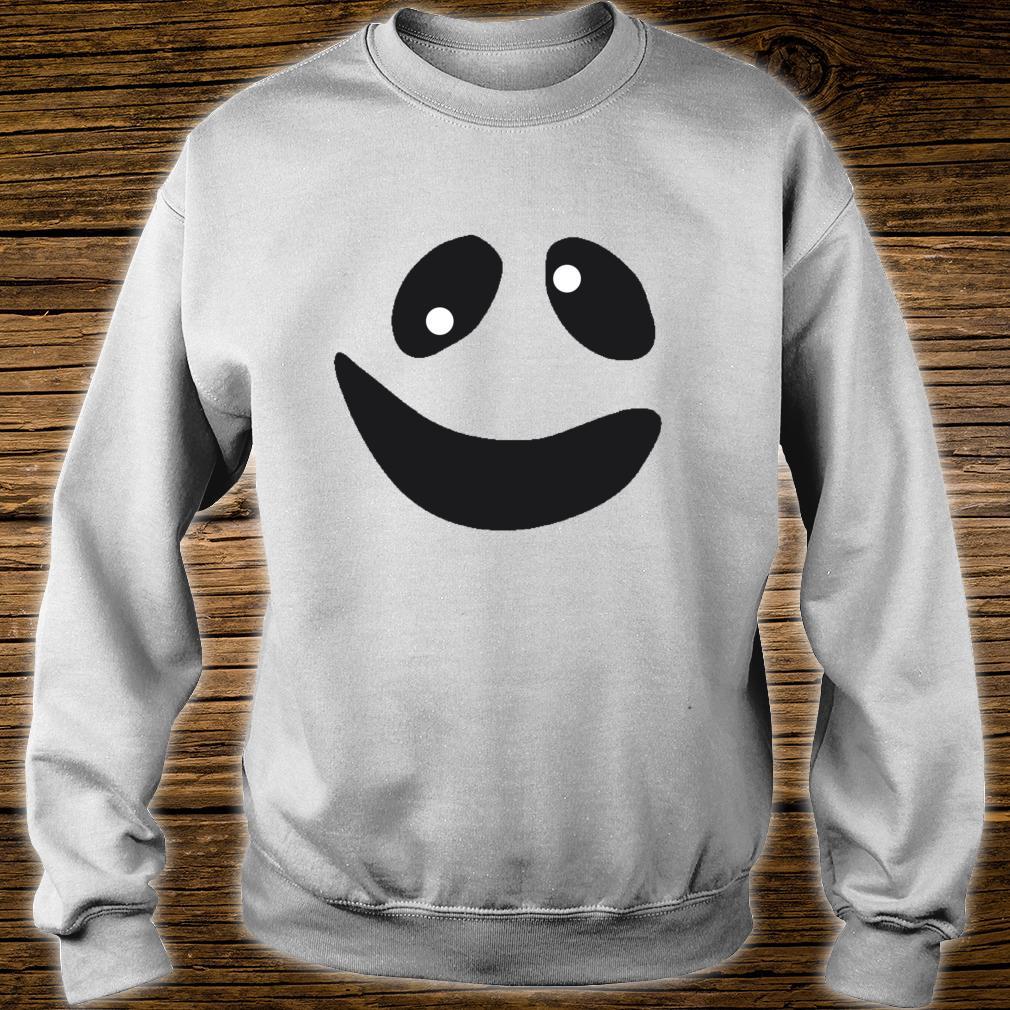 Lustiges GeistGesichtsKostümShirt für Halloween Shirt sweater