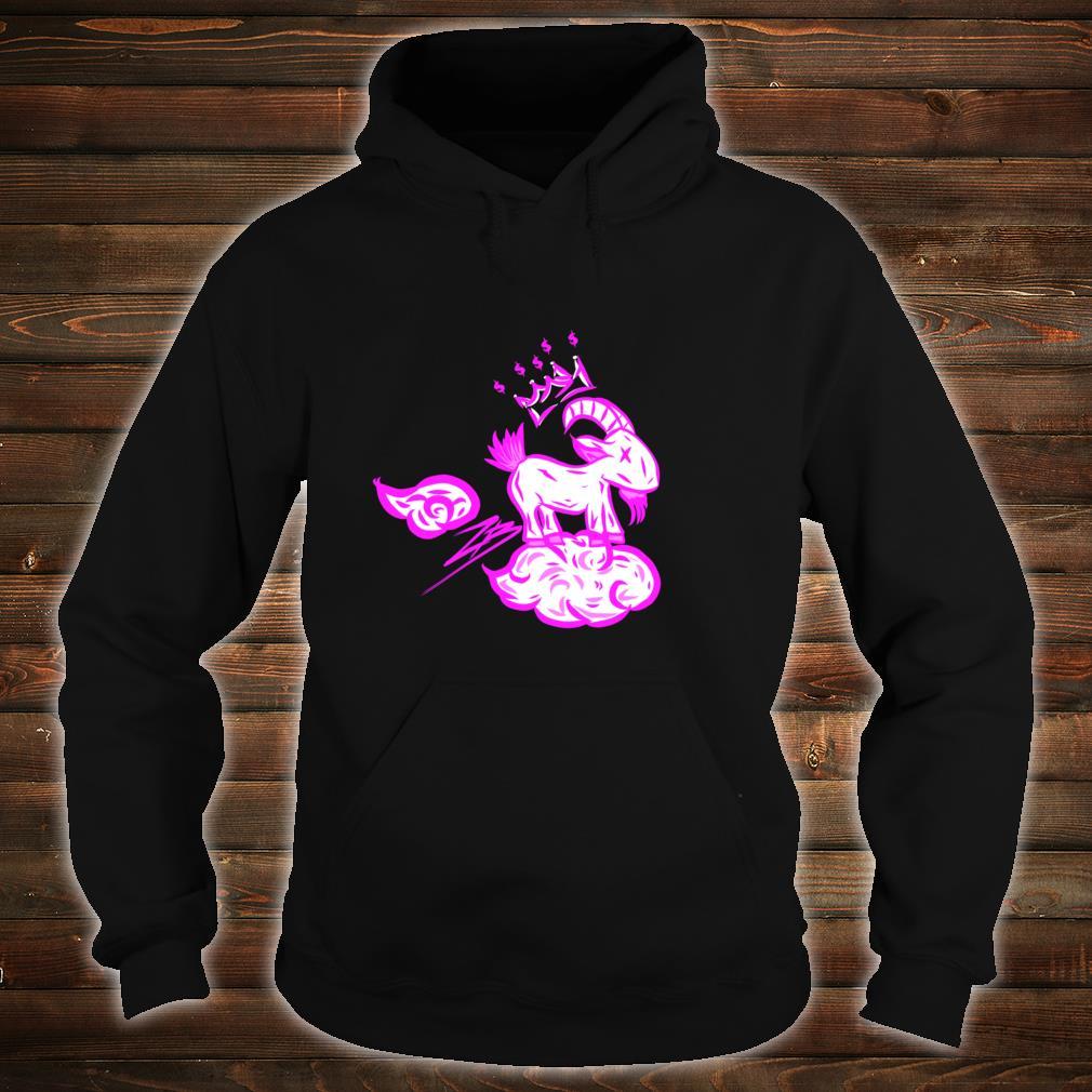 MHA Goat Cloud Light Blue Shirt hoodie