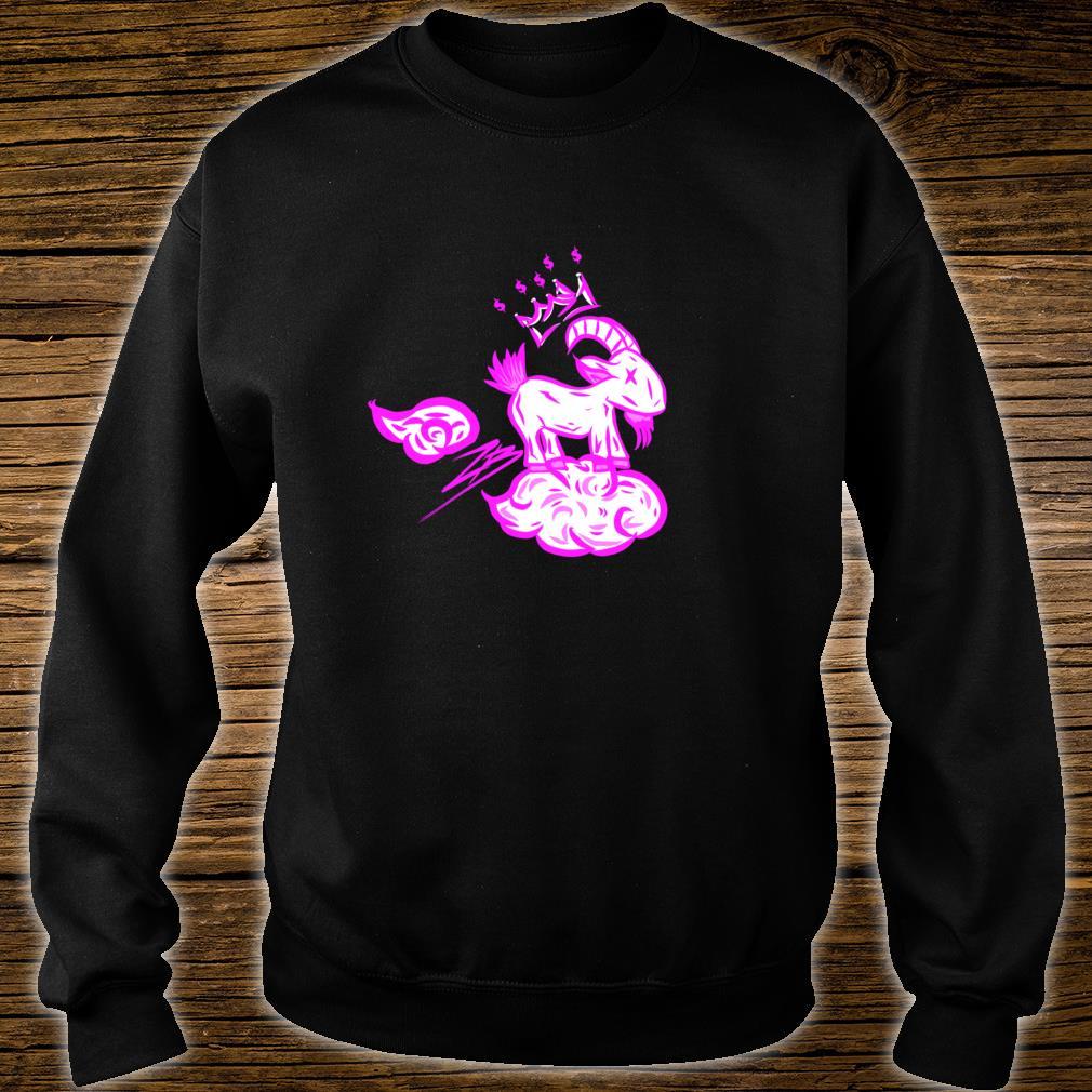 MHA Goat Cloud Light Blue Shirt sweater