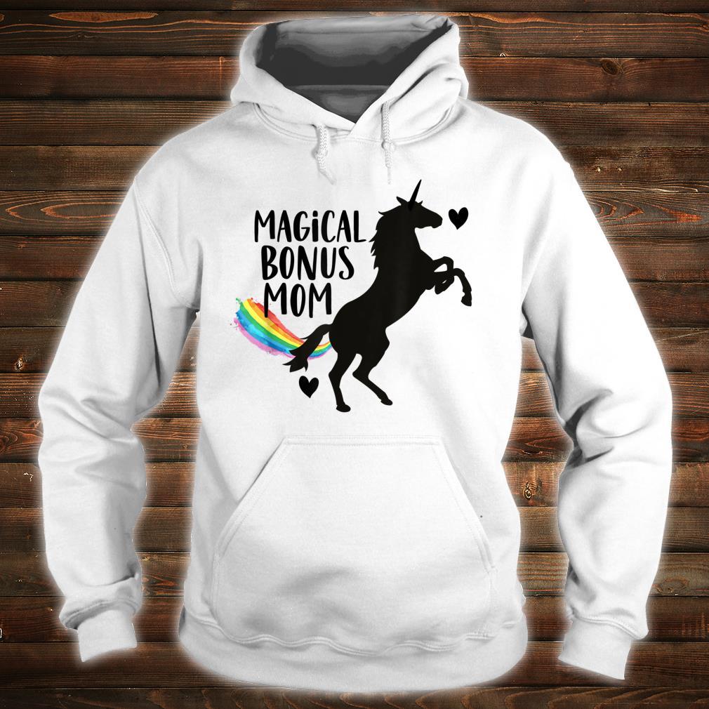 Magical Bonus mom Unicorn Stepmother Best Stepmom Ever Shirt hoodie