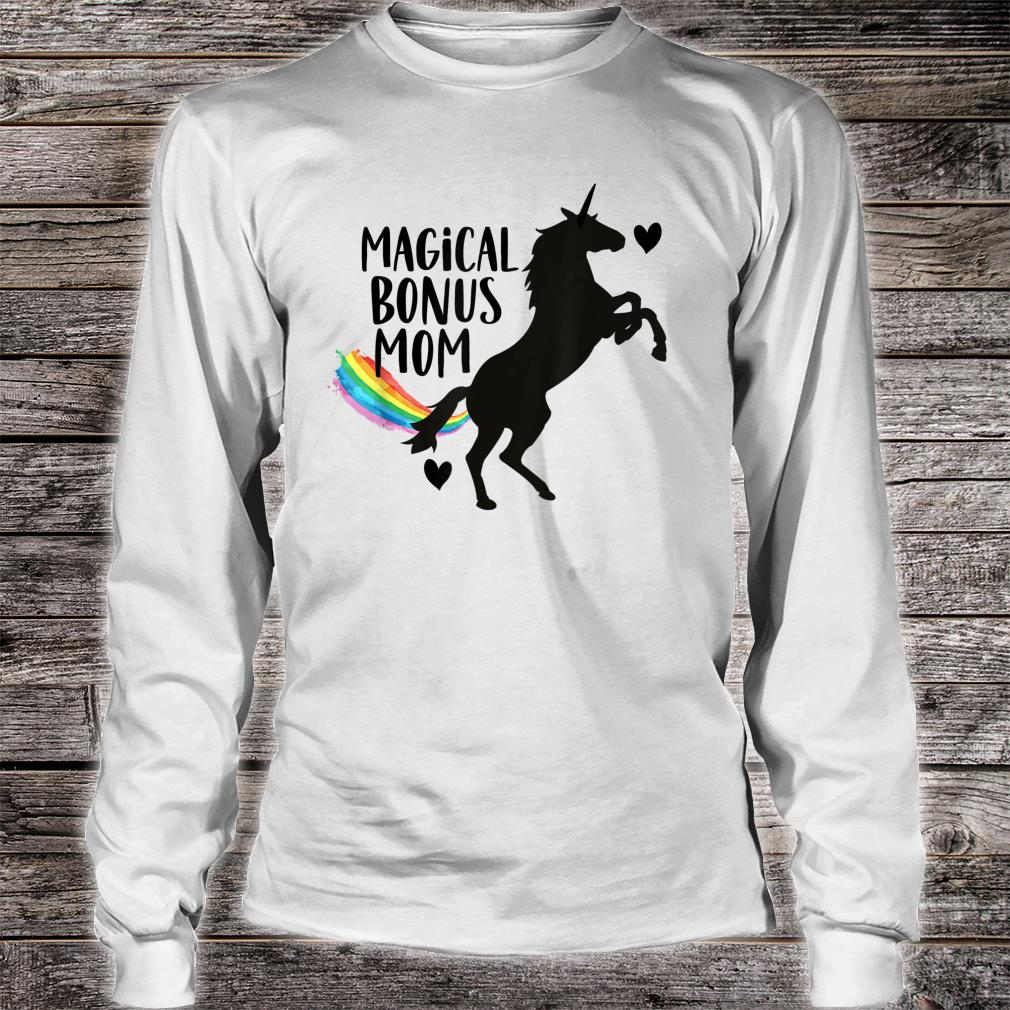 Magical Bonus mom Unicorn Stepmother Best Stepmom Ever Shirt long sleeved