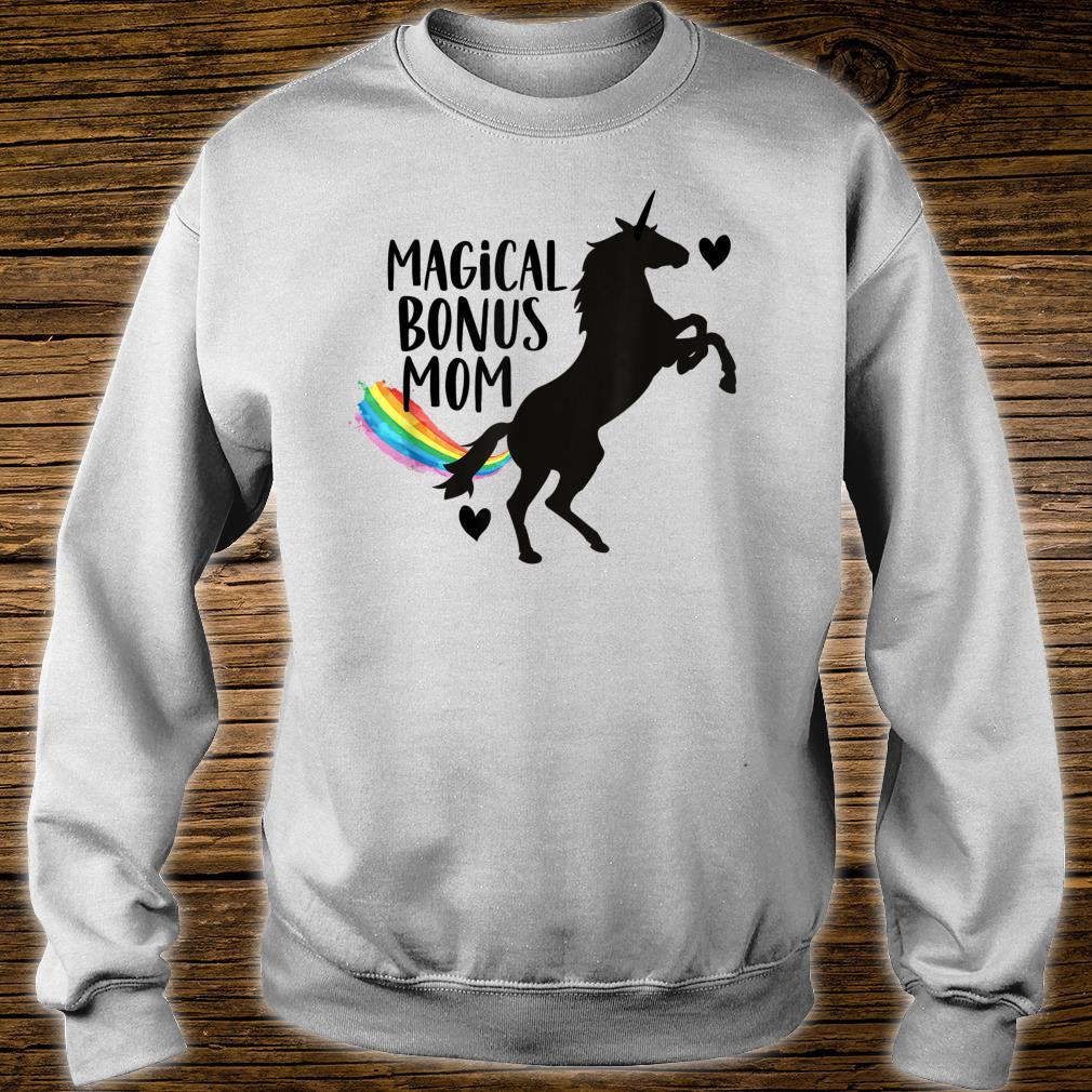 Magical Bonus mom Unicorn Stepmother Best Stepmom Ever Shirt sweater