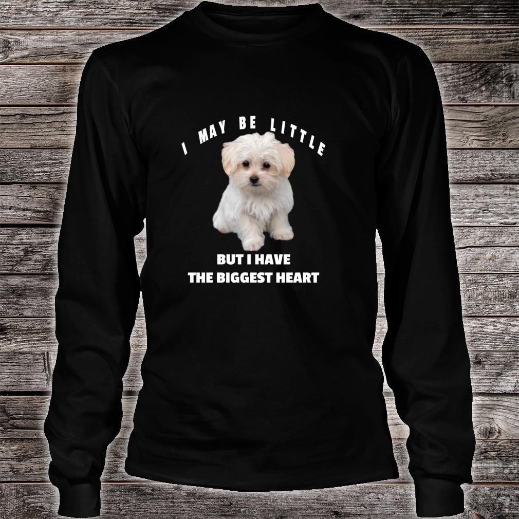 Maltese Dog Design Lustiges Zitat Maltipoo Mix Besitzer Shirt long sleeved