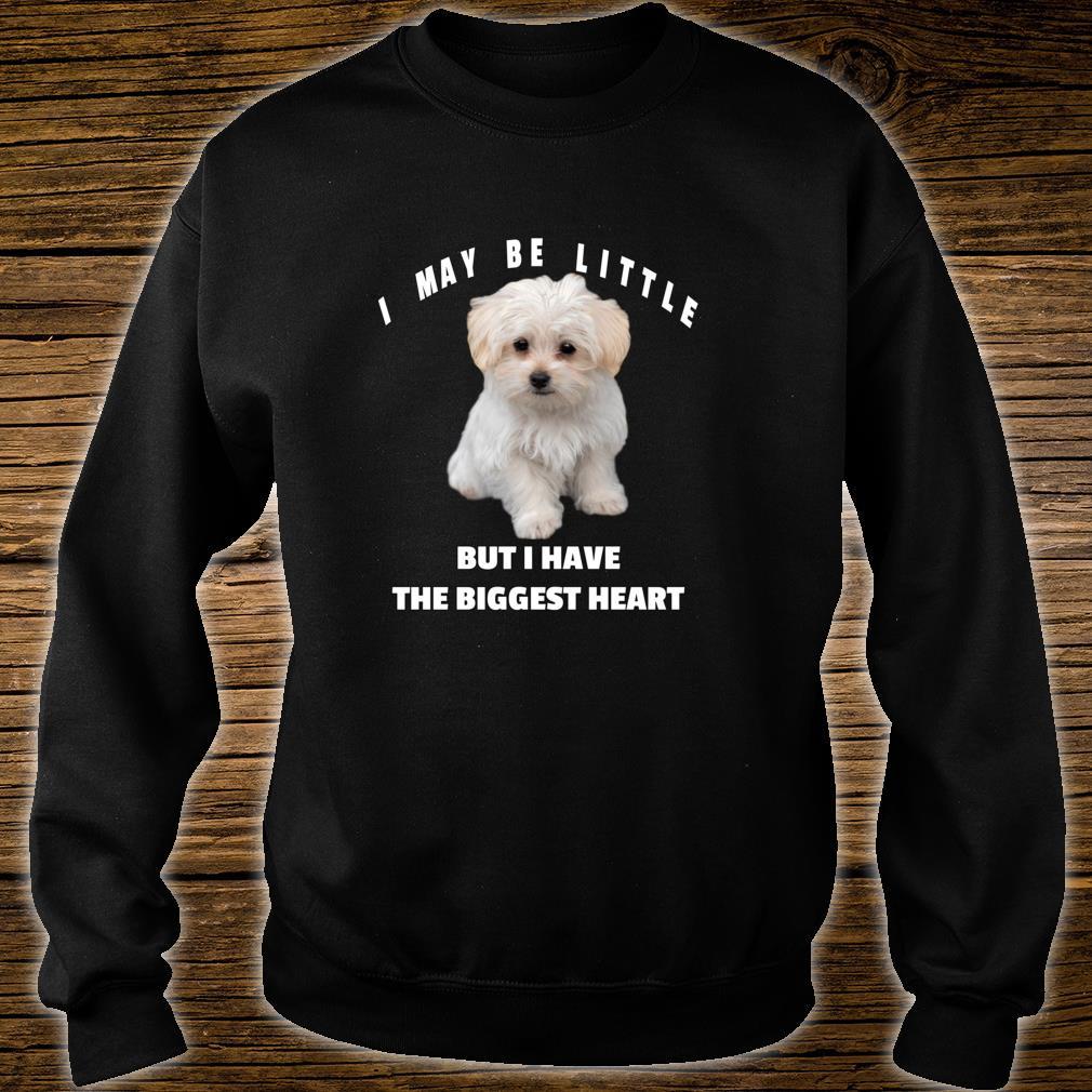 Maltese Dog Design Lustiges Zitat Maltipoo Mix Besitzer Shirt sweater