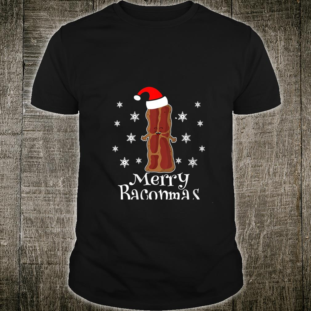 Merry Baconmas National Bacon Day Pork Belly Ugly Christmas Shirt