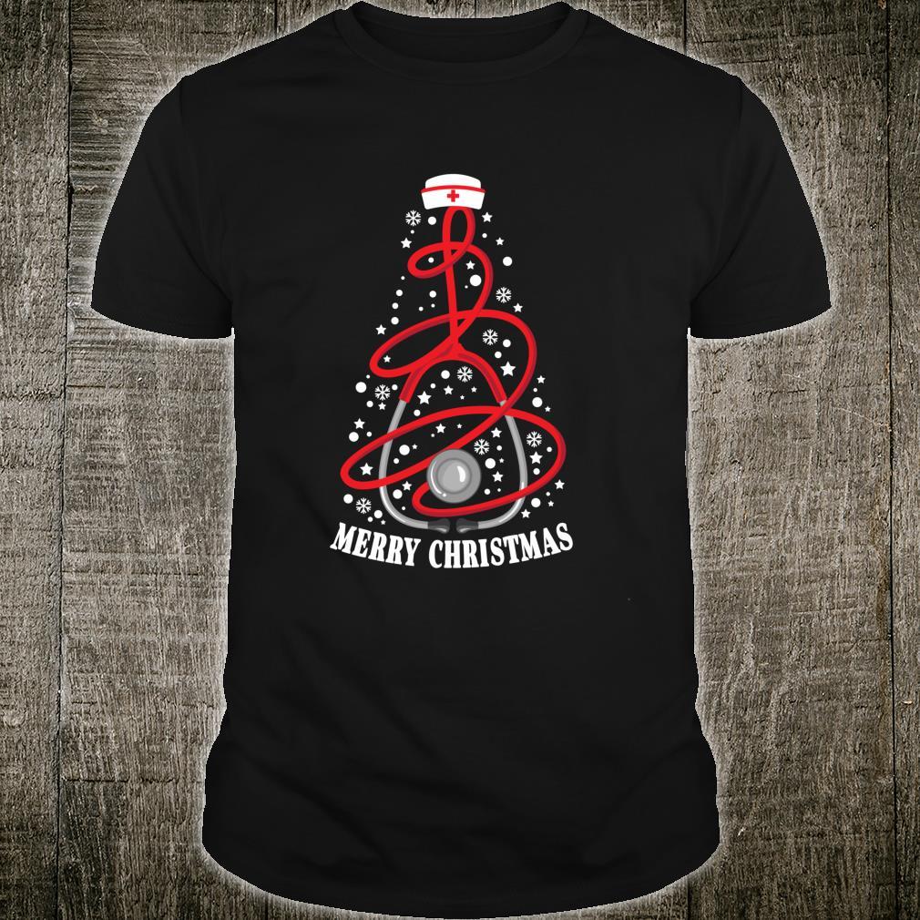 Merry Christmas Nurse Yuletide Med Practitioners Xmas Shirt