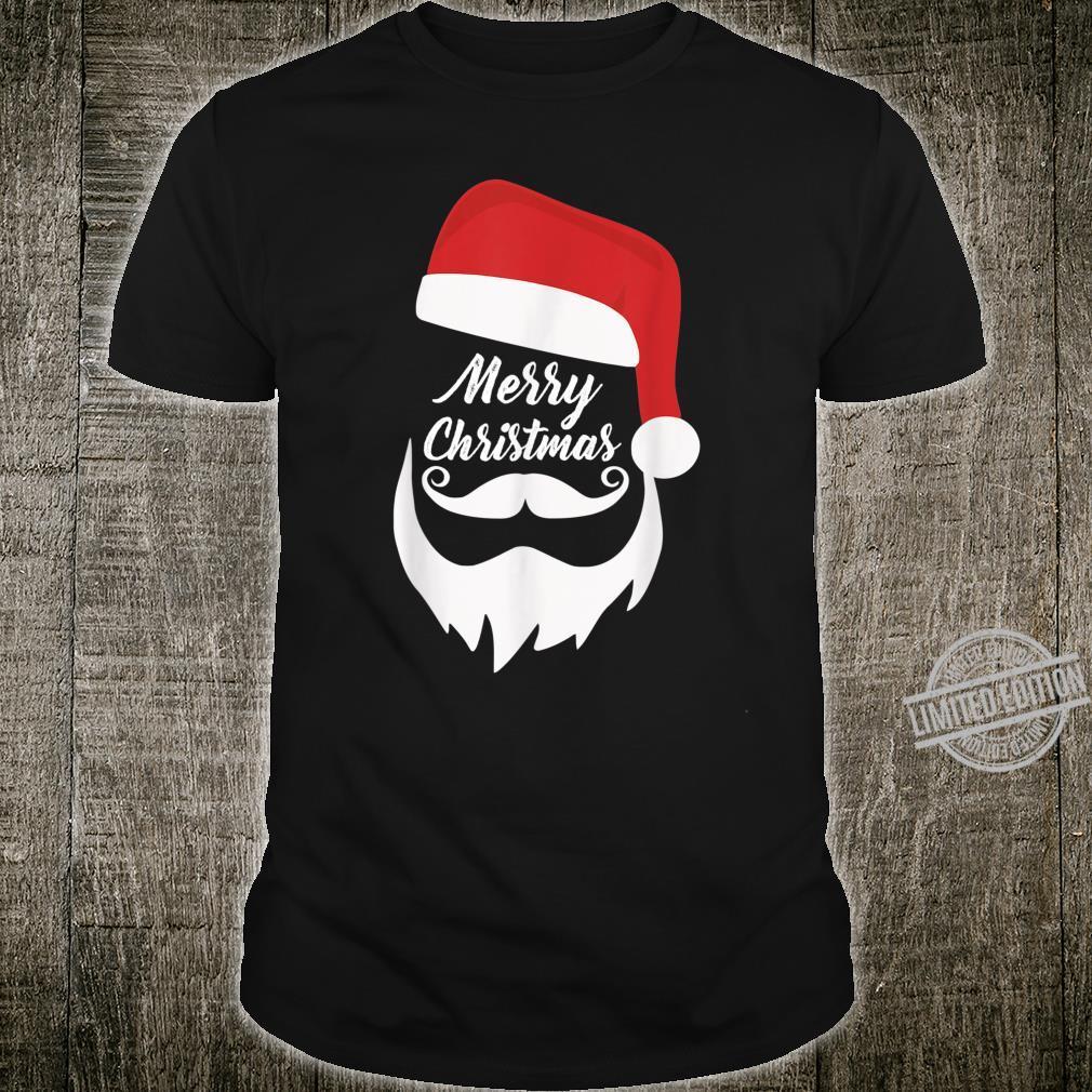 Merry Christmas Shirt With Bearded Santa Shirt