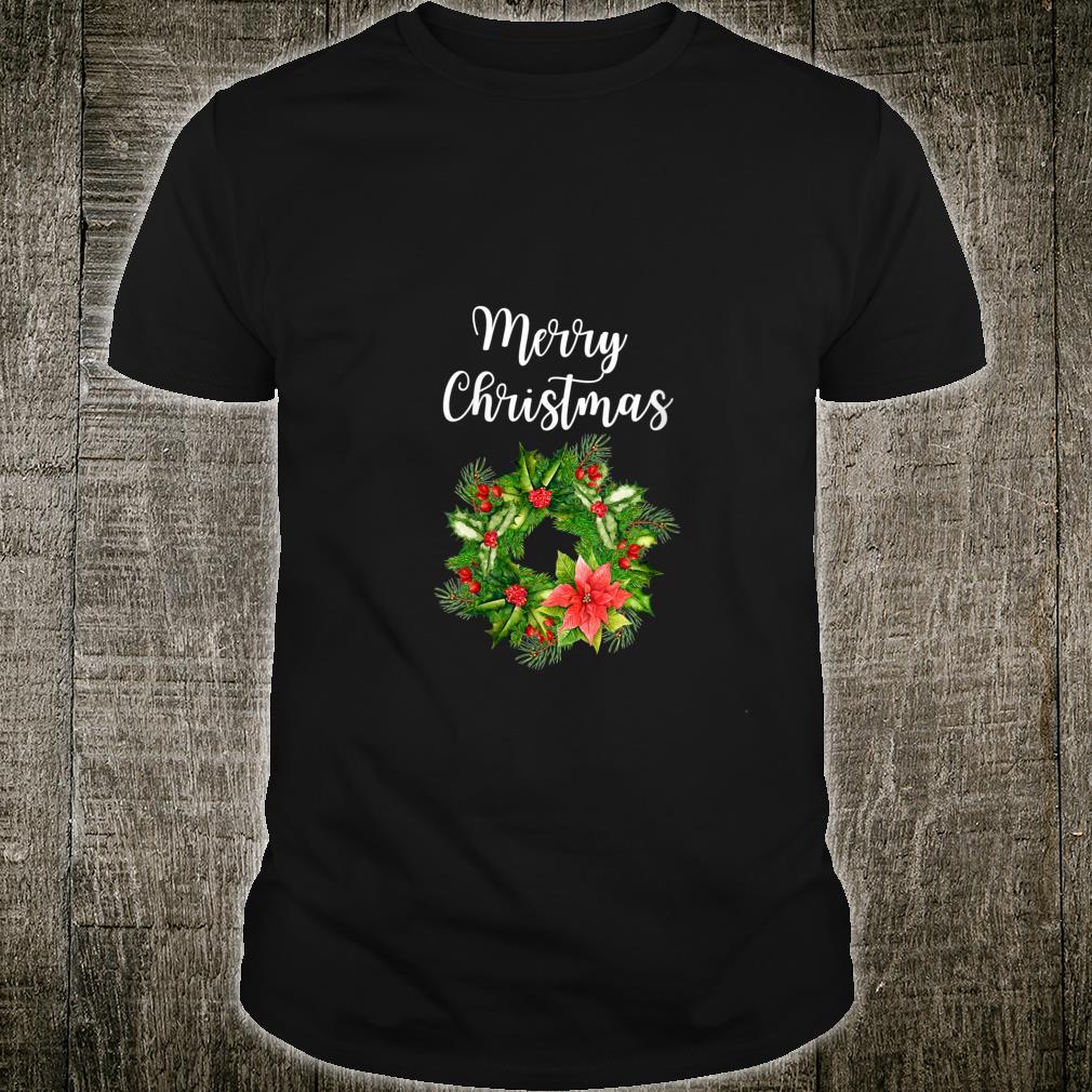 Merry Christmas Wreath Shirt