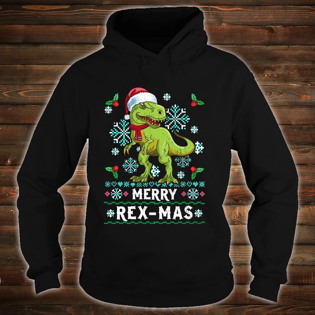 Merry Rexmas Christmas For Husband Shirt hoodie