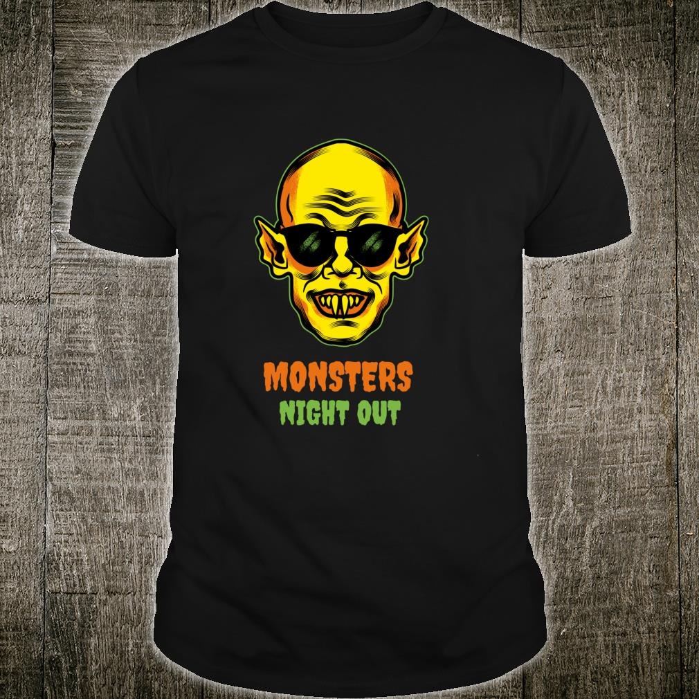 Monsters Night Out Shirt
