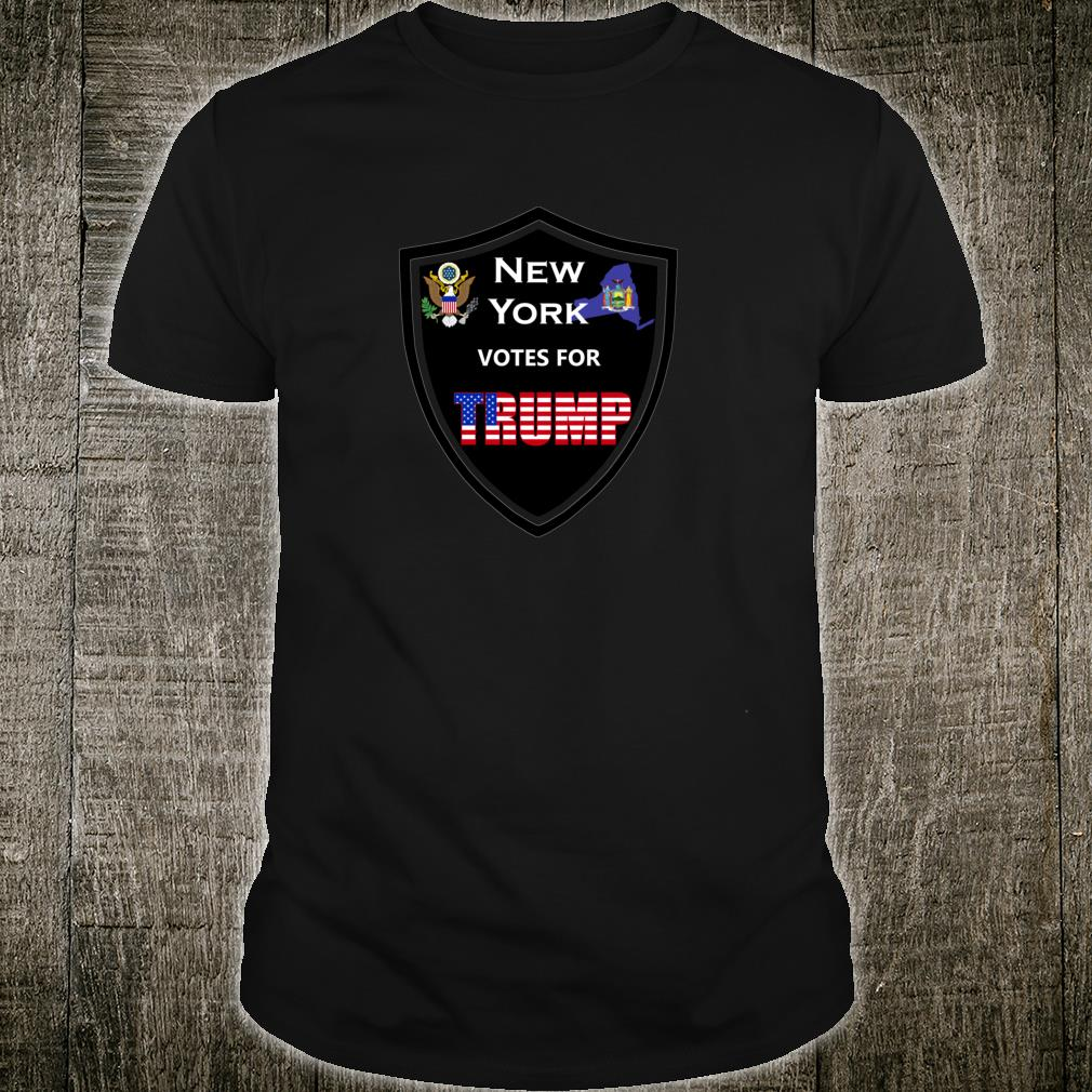 New York Votes For Trump President 2020 Color series 1 Shirt