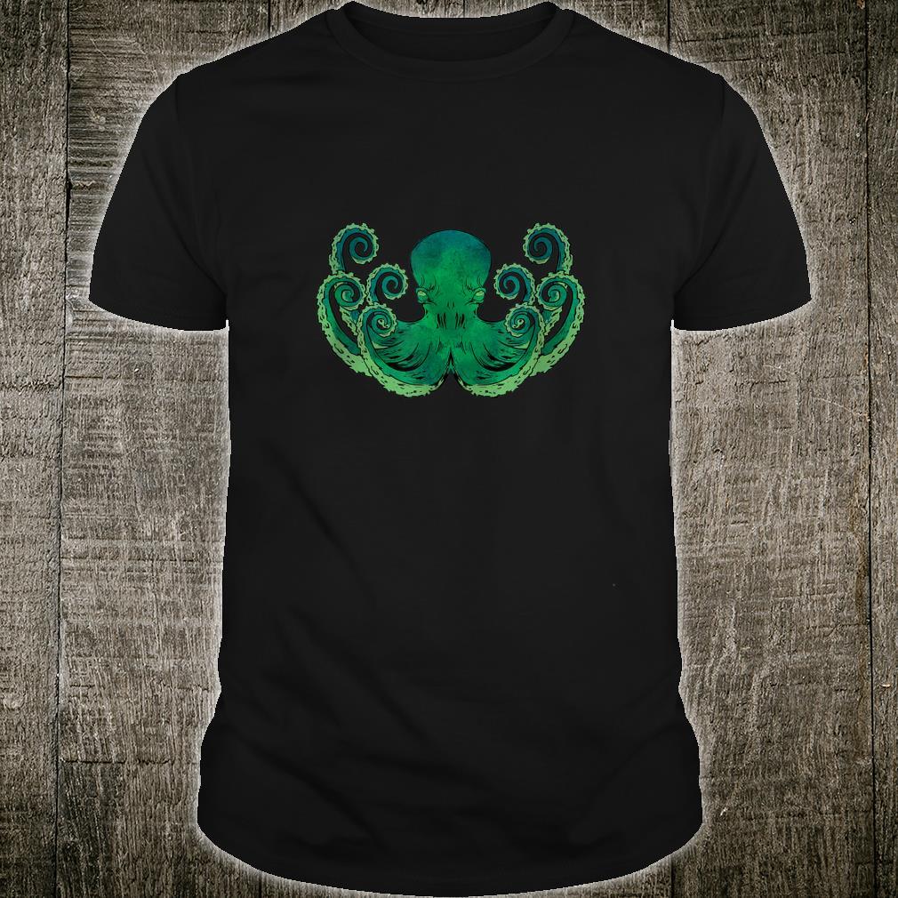 Ocean Animal Pirate Octopus Shirt