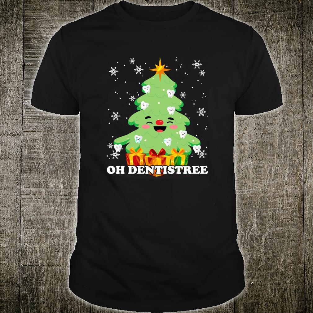 Oh Dentistree Christmas Tree Dental Dentist Xmas Shirt