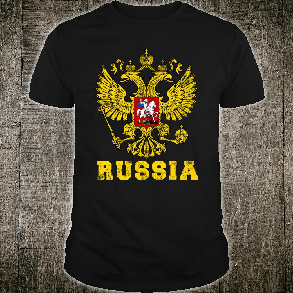 Original Russian Federation Vintage CCCP Proud Mother Russia Shirt