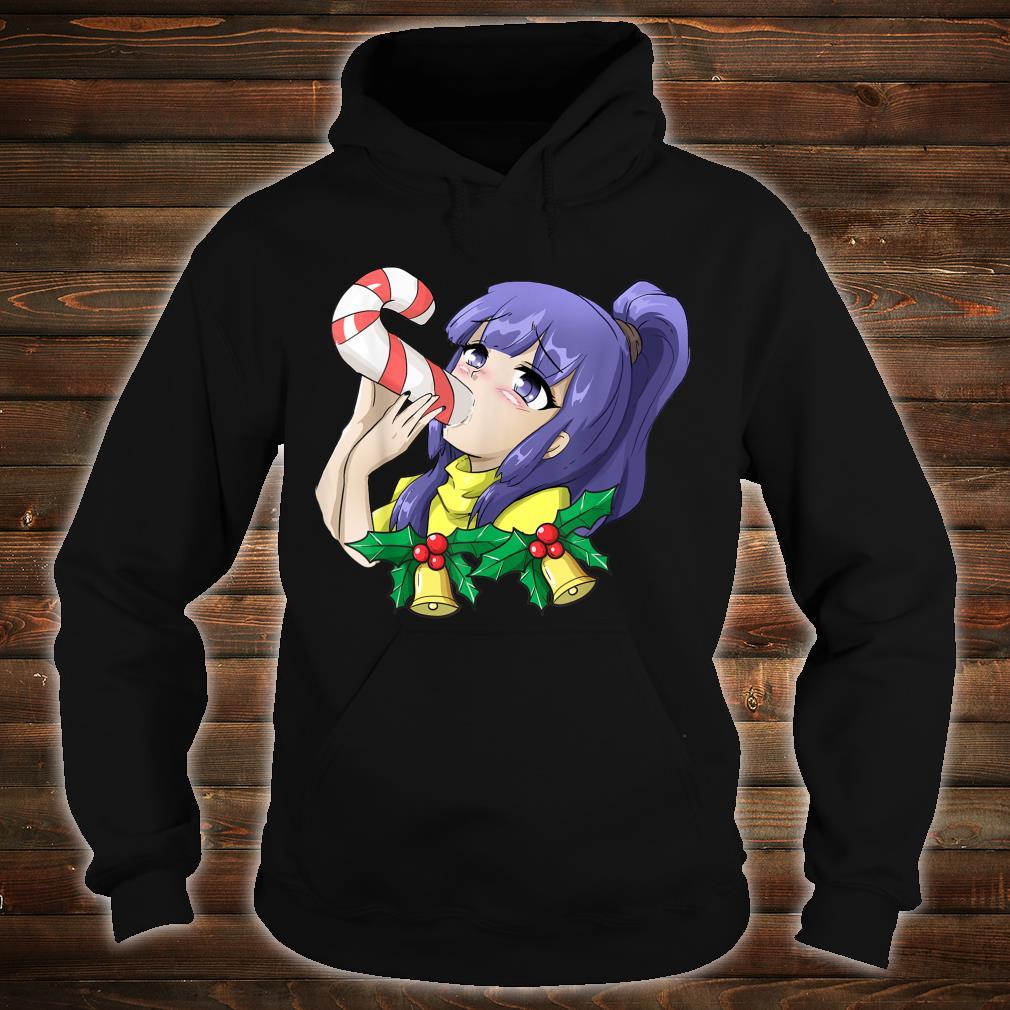 Otaku Ahegao Weihnachten Ecchi Etchi Hentai Lewd Sexy Girl Shirt hoodie