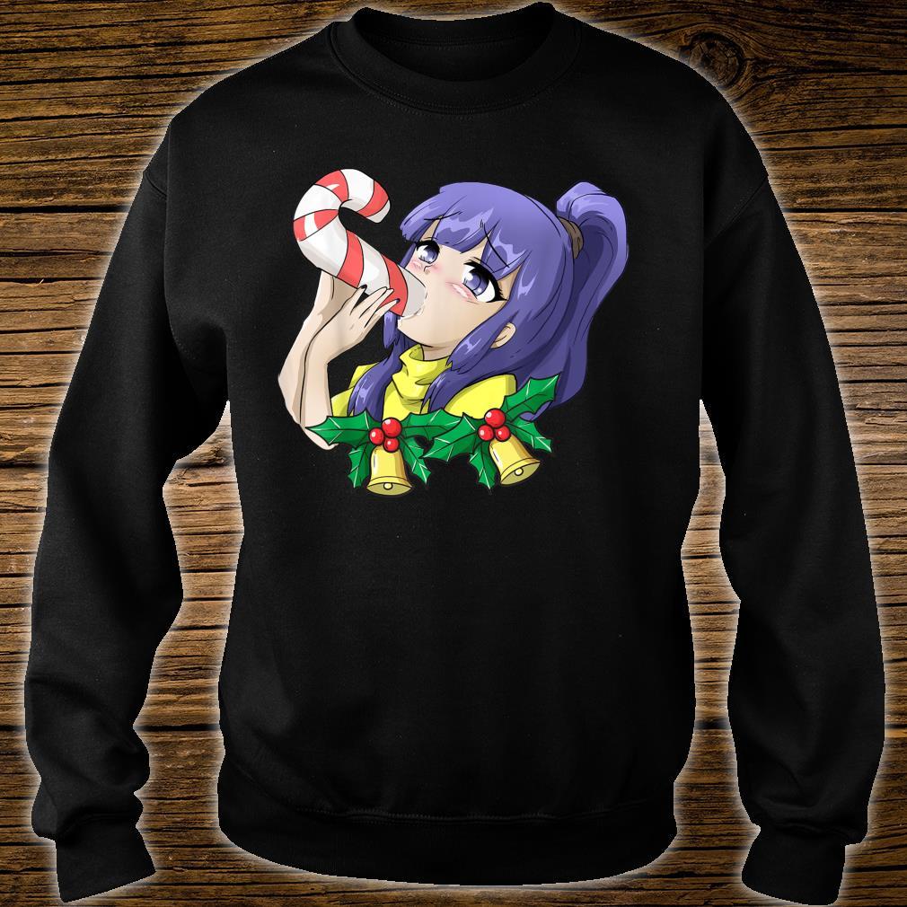 Otaku Ahegao Weihnachten Ecchi Etchi Hentai Lewd Sexy Girl Shirt sweater