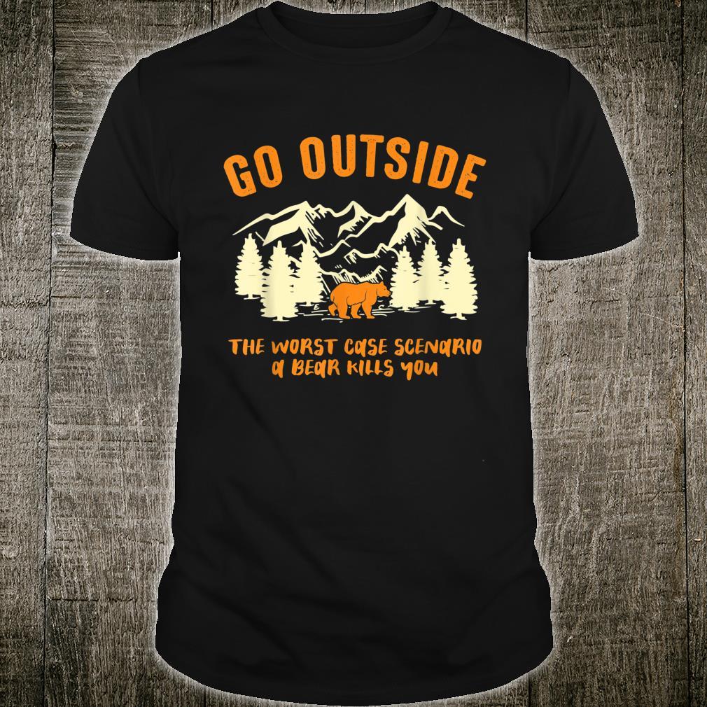 Outdoor Aktivitäten Campingliebhaber Bergsteigen Camping Shirt