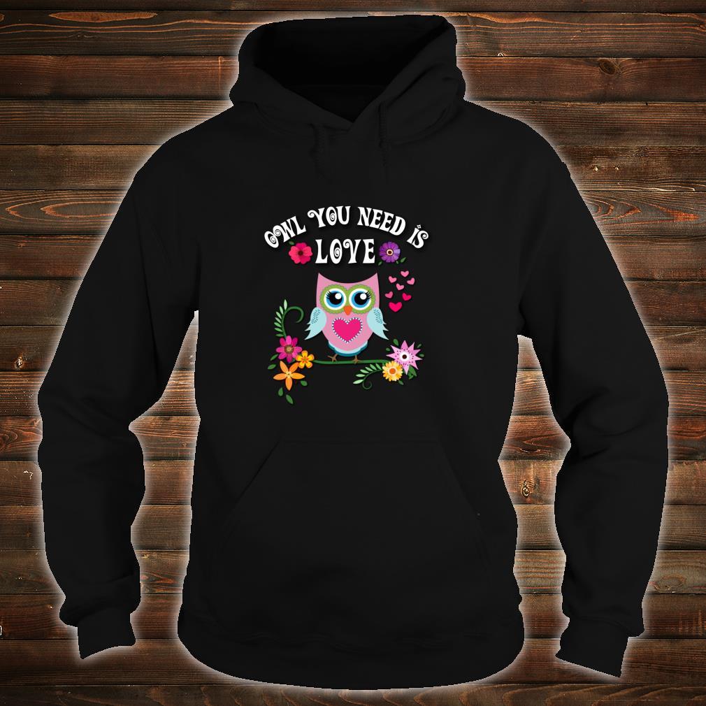 Owl Shirt hoodie