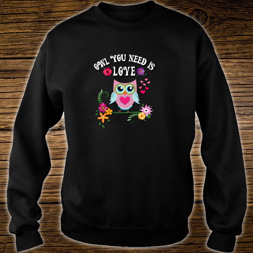 Owl Shirt sweater