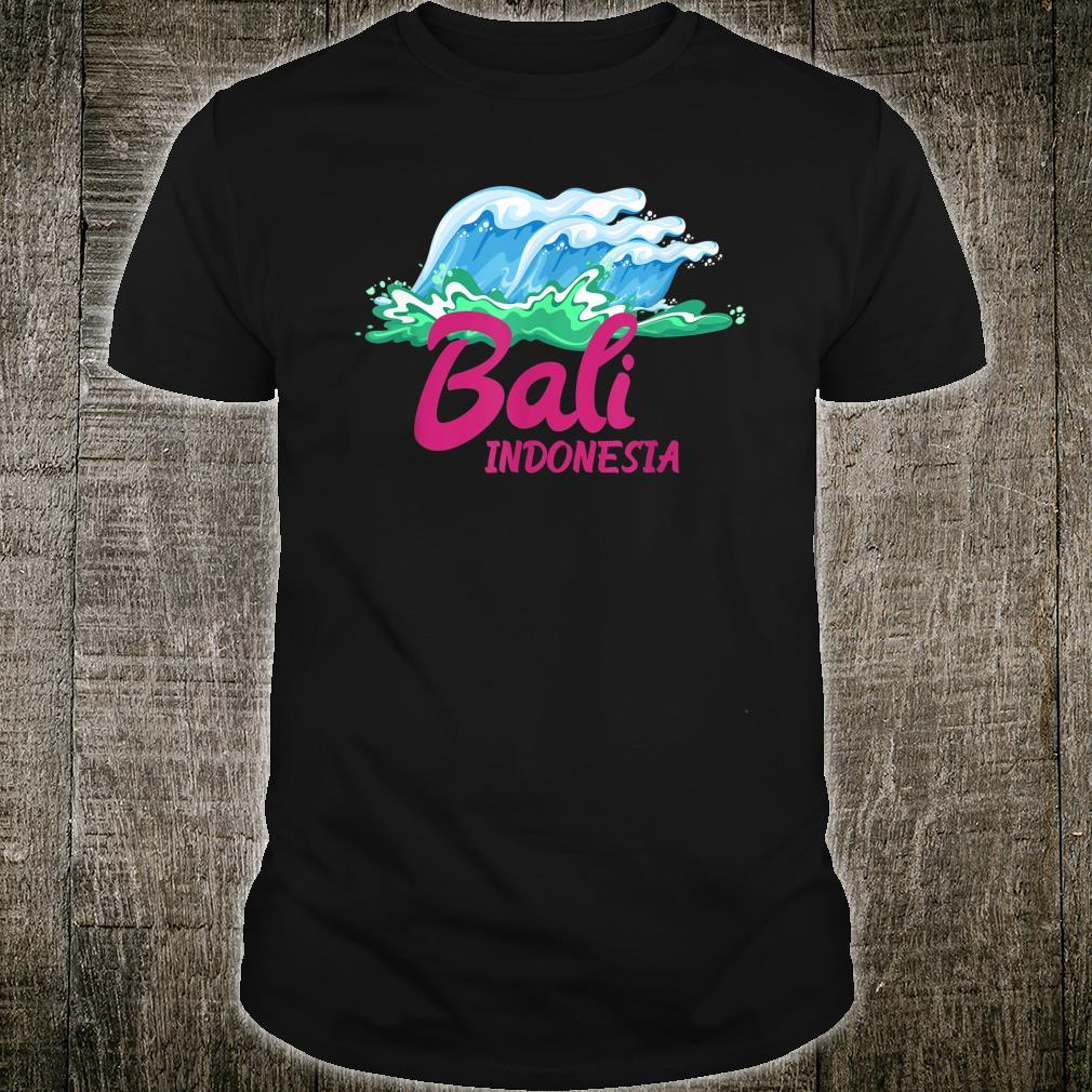 Ozean Tropische Strände Bali Indonesien Shirt