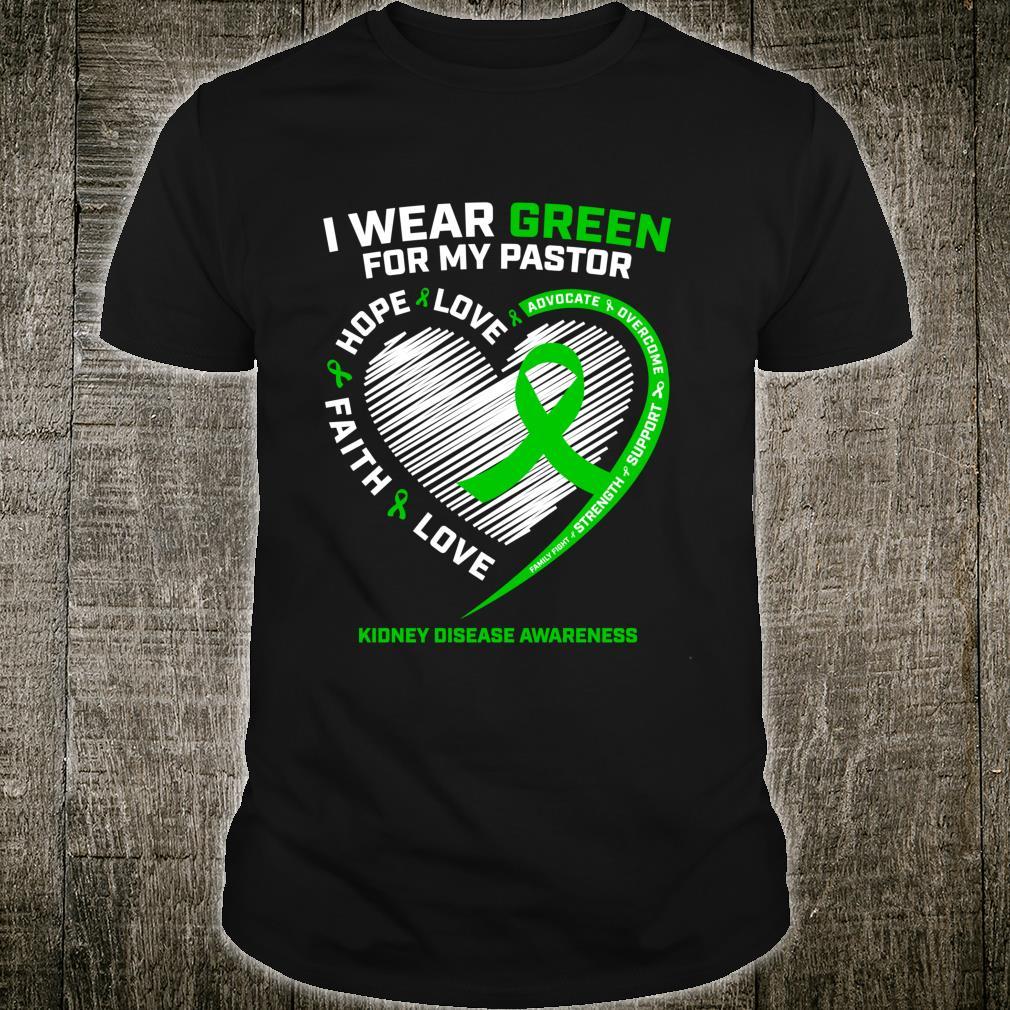 Pastor Kidney Disease Awareness Shirt
