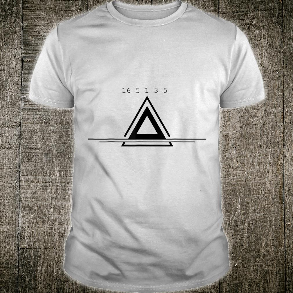 Peace In Numbers With Geometric Shape Creative Shirt