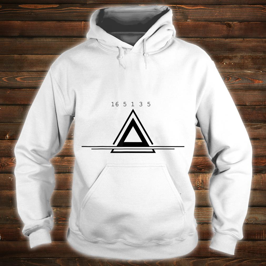 Peace In Numbers With Geometric Shape Creative Shirt hoodie