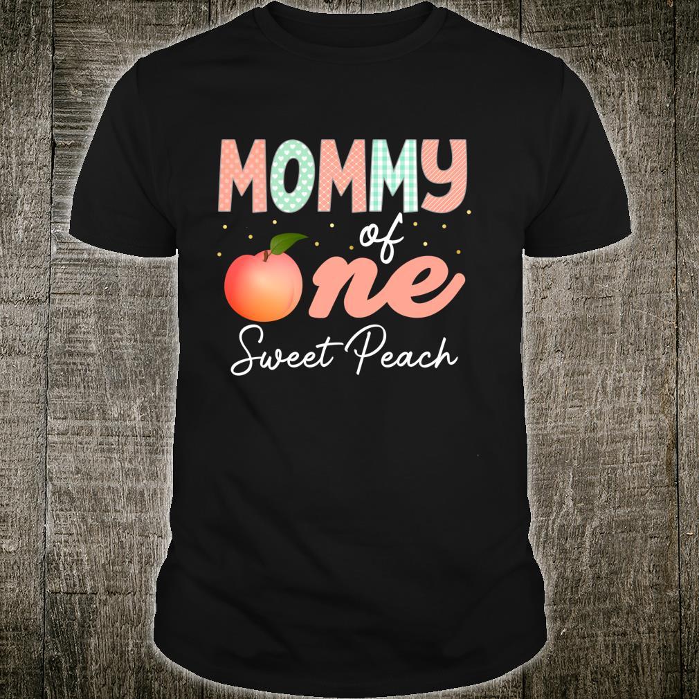 Peach Party Birthday Costumes Shirt