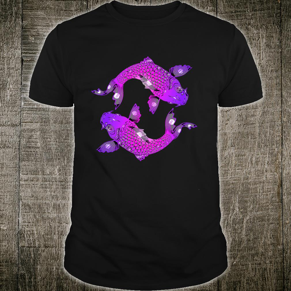 Pisces Astrological Zodiac Sign Two Fish Shirt