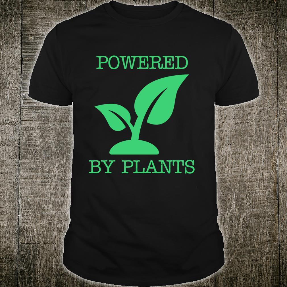 Plant Powered Vegan Vegetarian Shirt