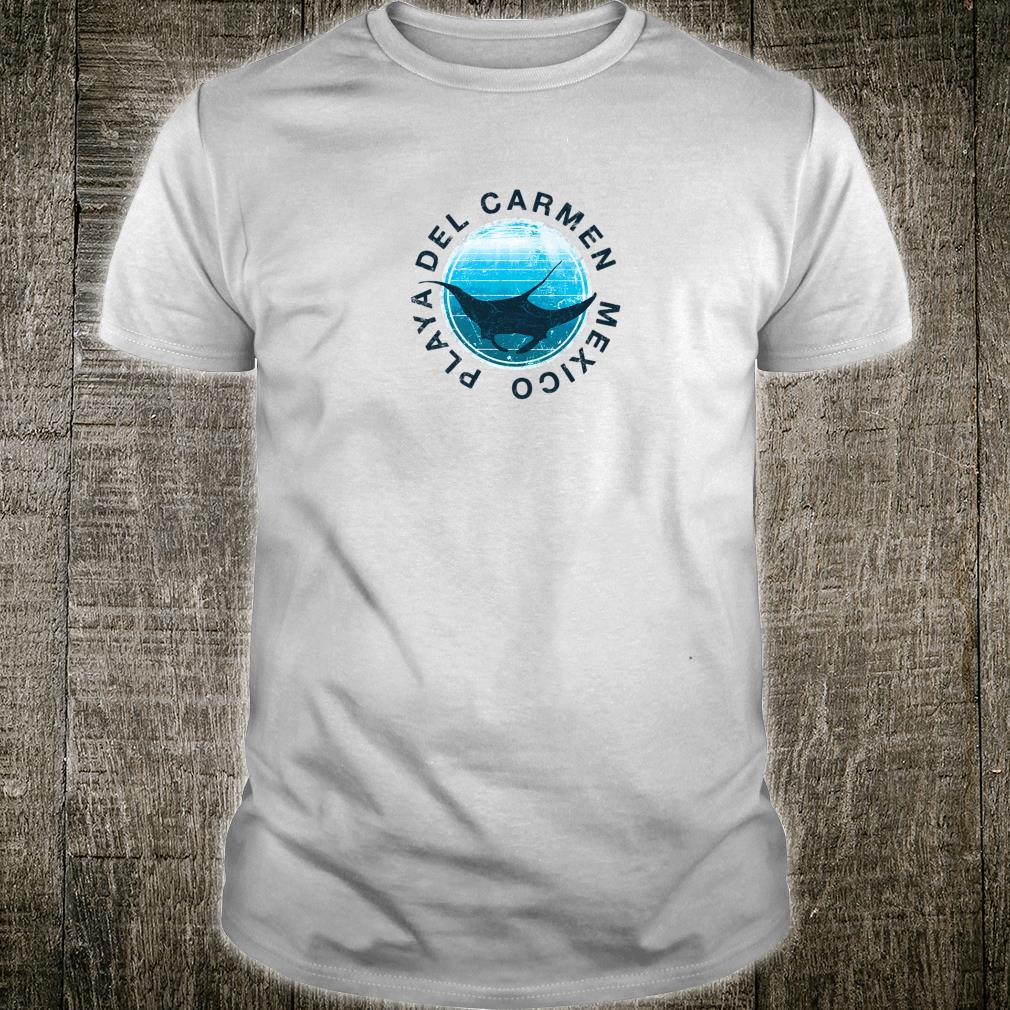 Playa Del Carmen DIVE Mexico DIVING Manta Shirt