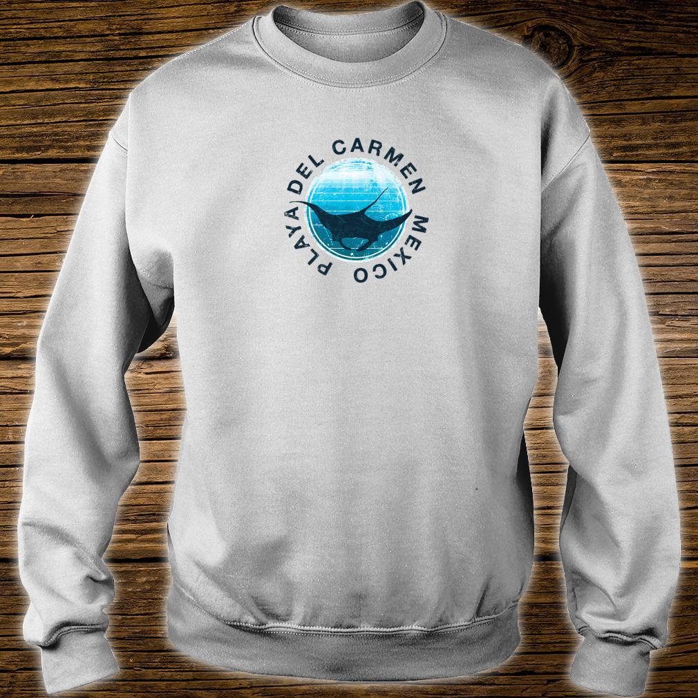 Playa Del Carmen DIVE Mexico DIVING Manta Shirt sweater