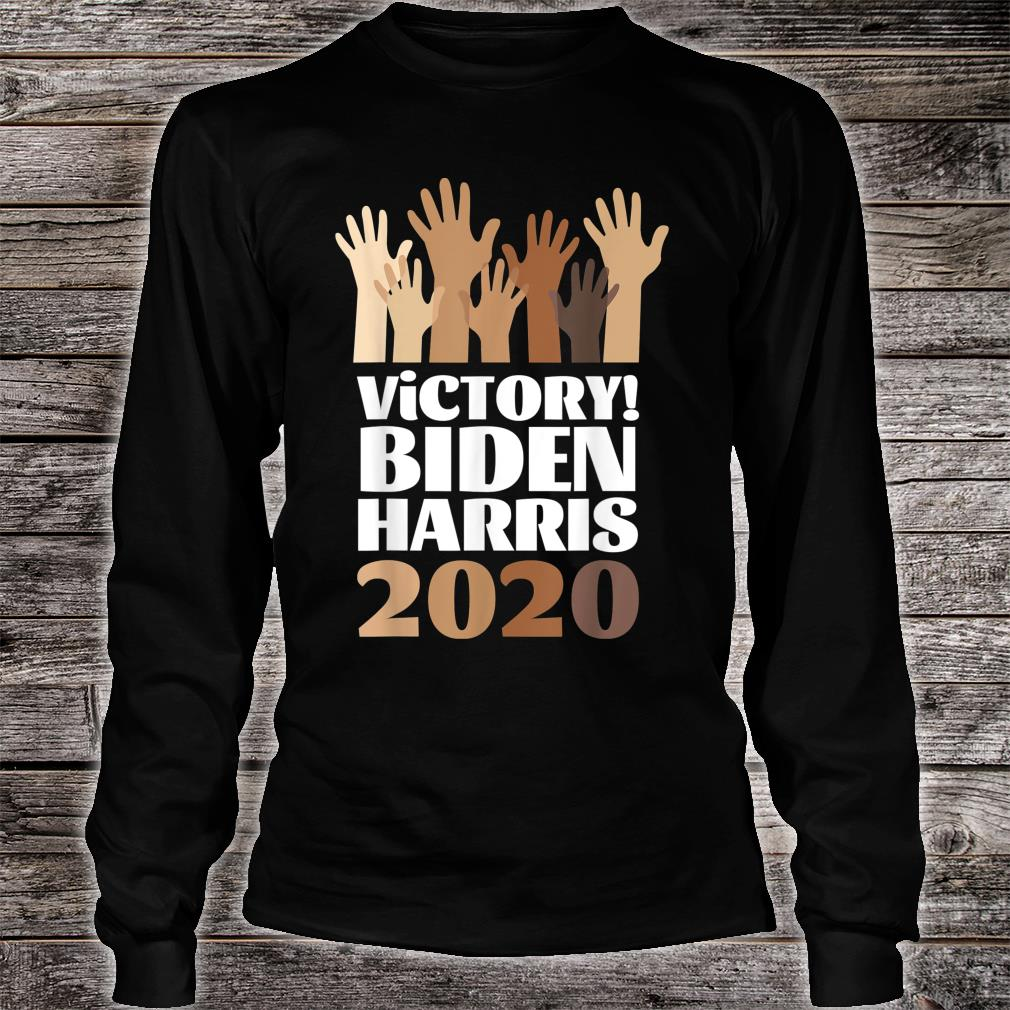 President Election Victory Biden Harris 2020 Shirt long sleeved