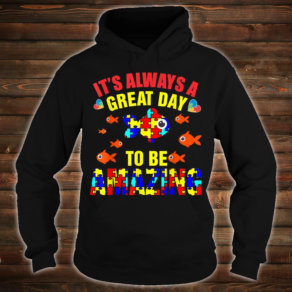 Proud Autistic Autism Fish Autism Awareness Shirt hoodie