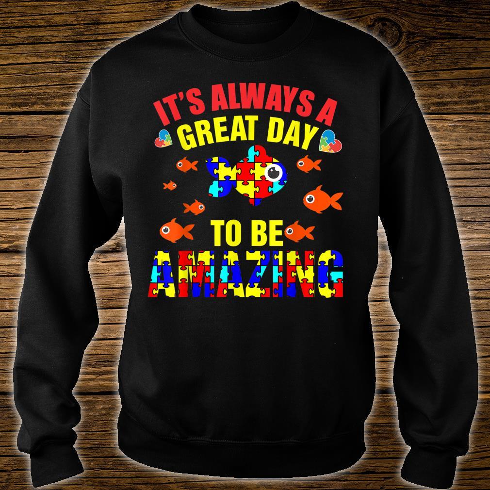 Proud Autistic Autism Fish Autism Awareness Shirt sweater