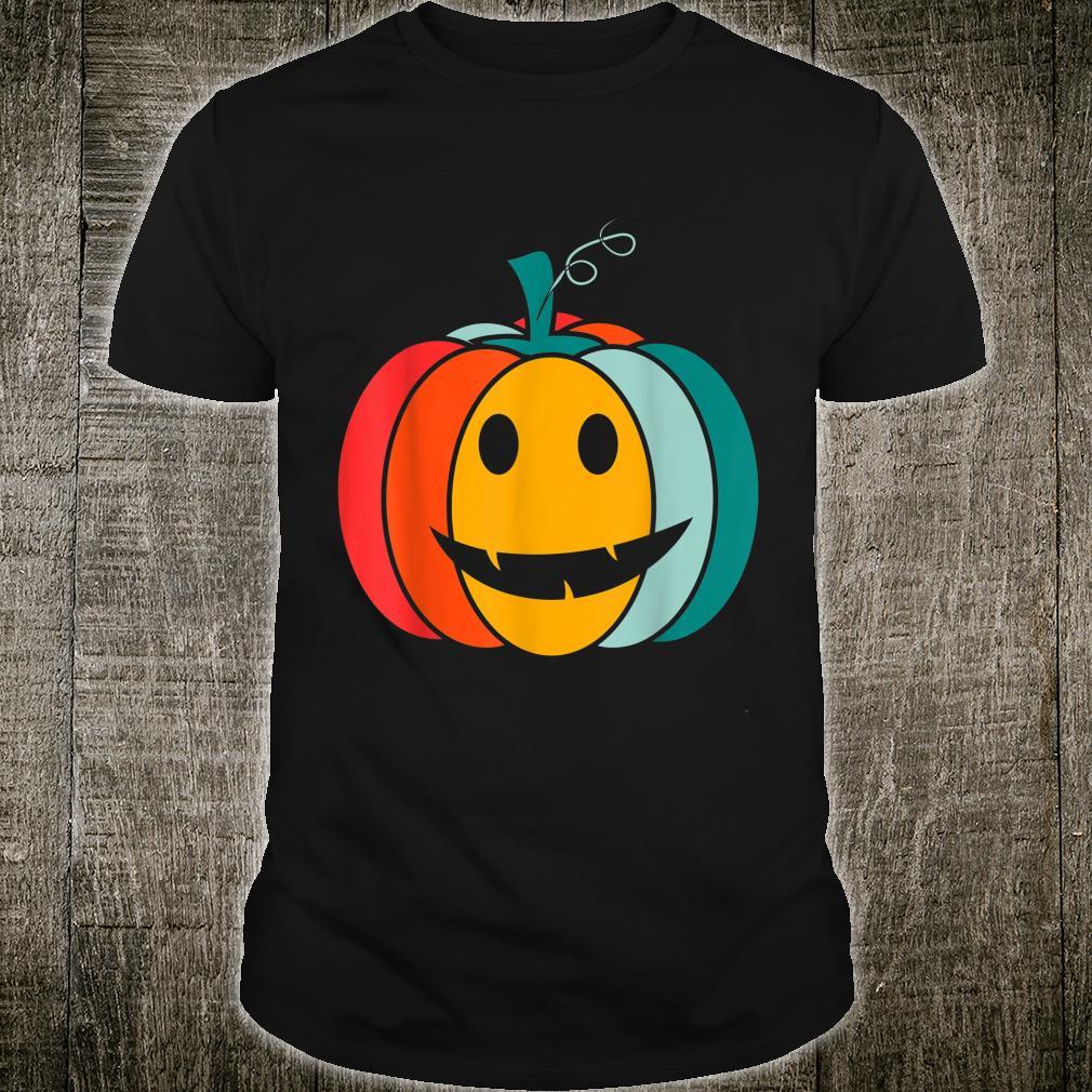 Pumpkin Face Halloween Pumpkin Shirt