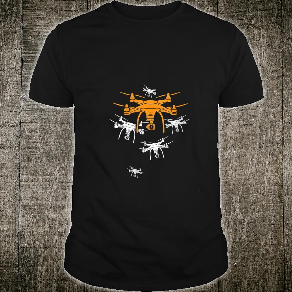 Quadcopter, Drone Pilot Shirt
