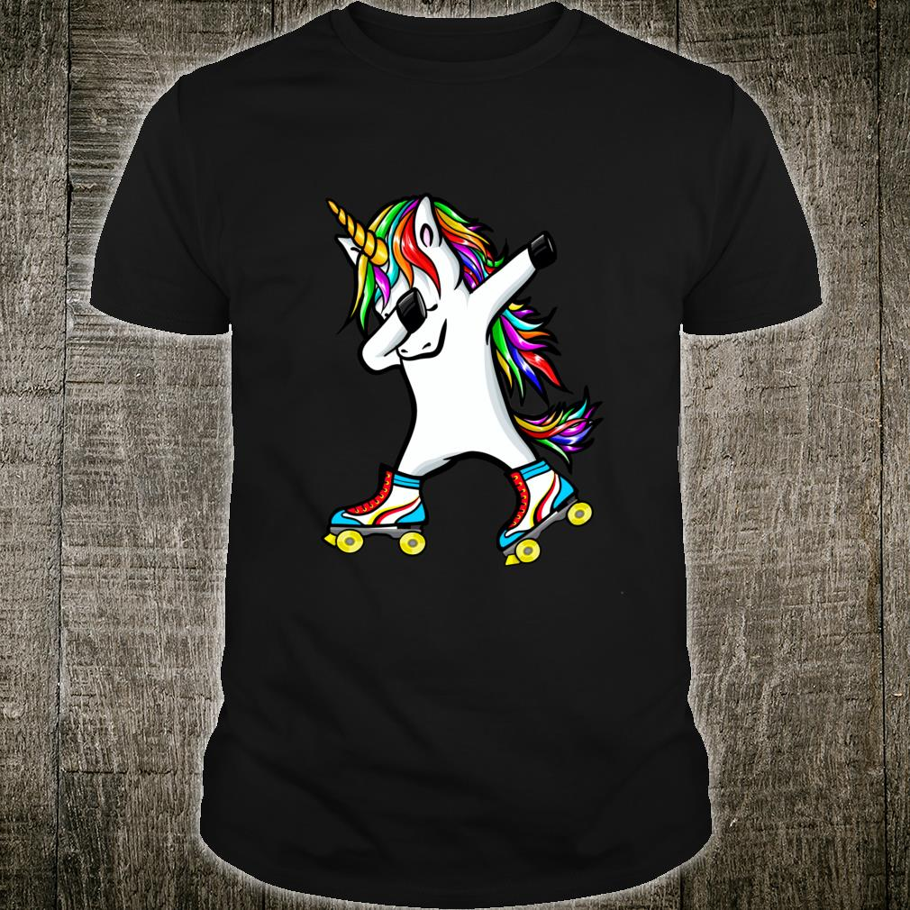 Roller skate unicorn dab dance unicorn roller skate Shirt