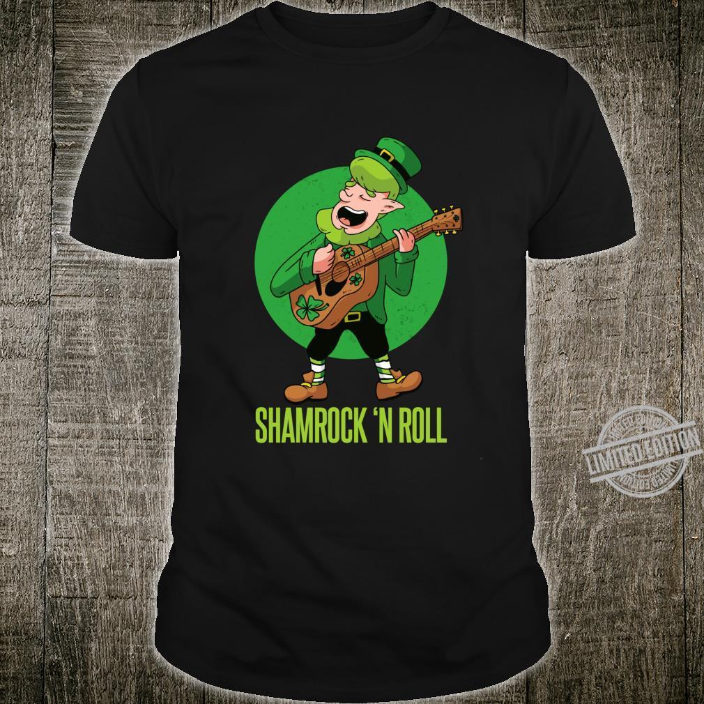 ST. PATRICK'S DAY Shamrock & Roll Leprechaun Clover Irish Shirt