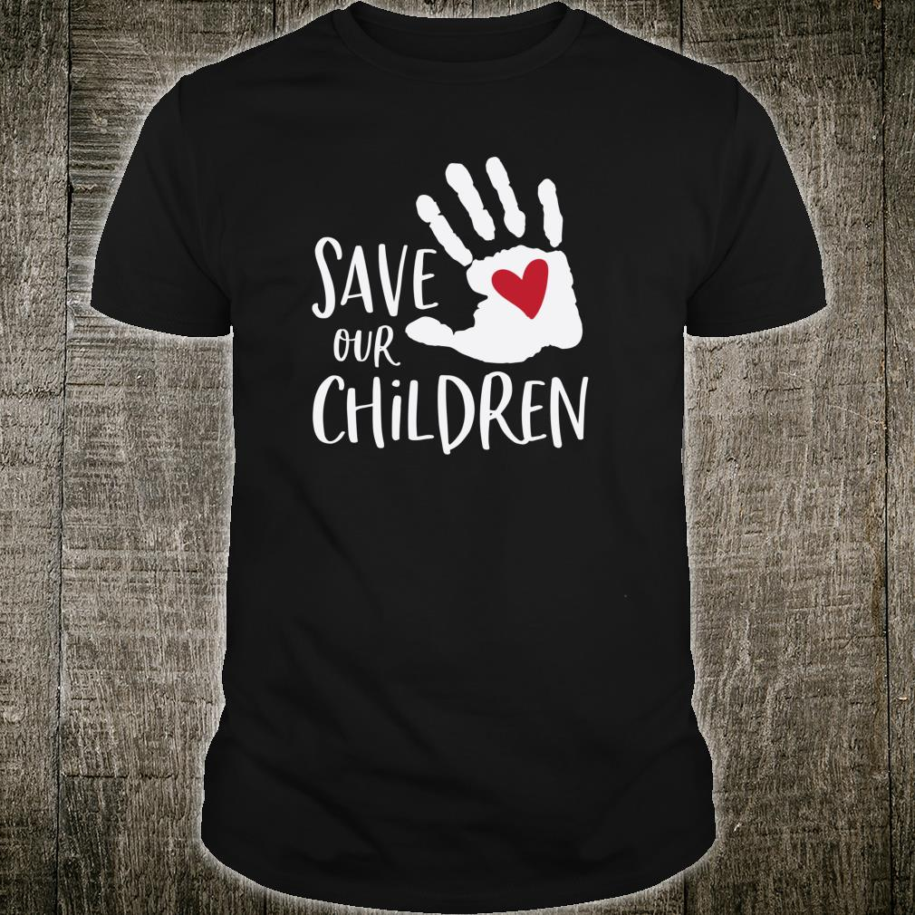 Save Our Children Anti Child Abuse Shirt